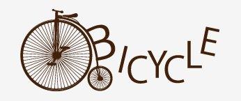 ロゴサンプル、BICYCLE